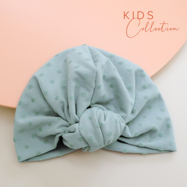 Turban ROSIE MINI | Dotty mint