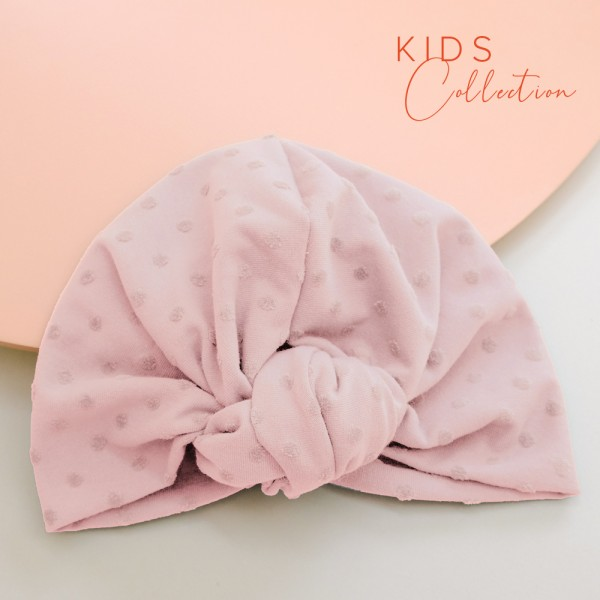Turban ROSIE MINI | Dotty rosa