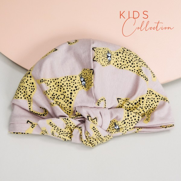 Turban BONNIE MINI | Jersey cool cat