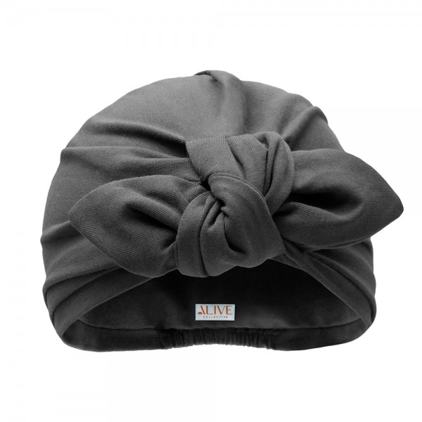 Turban BONNIE MINI | Jersey greige